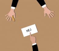 For at sige fra kræver det nogle gang at sige nej